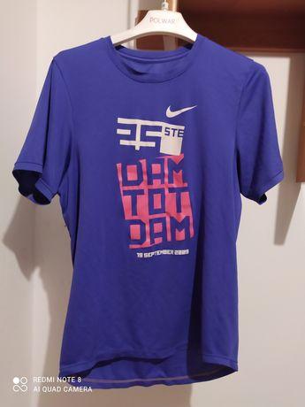 Fioletowa Koszulka sportowa Nike just do it Damska xs / s