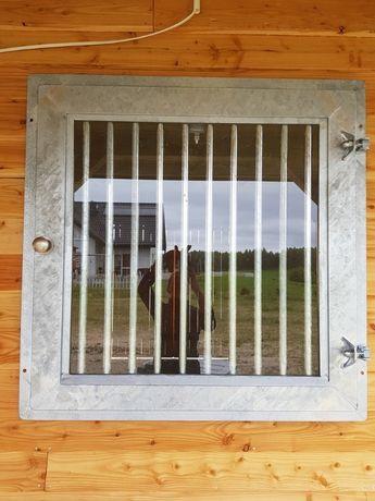 Okna do stajni, okna stajenne, wyposażenie stajni Gillmet Horses