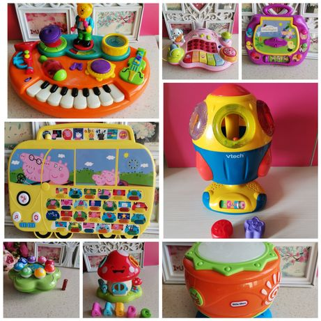Музыкальные игрушки Chicco Vtech peppa pig ben holly