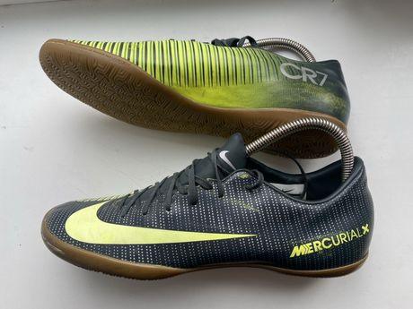 Nike CR7 бампы футзалки nike 41 размер 40 mercurial сороконожки