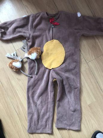 Strój,kostium sarenki 104/110 3-4 latka