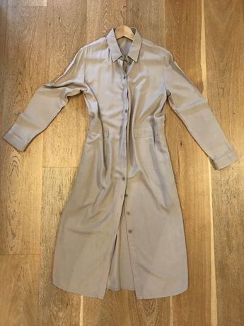 Sukienka bezowa szmizerka