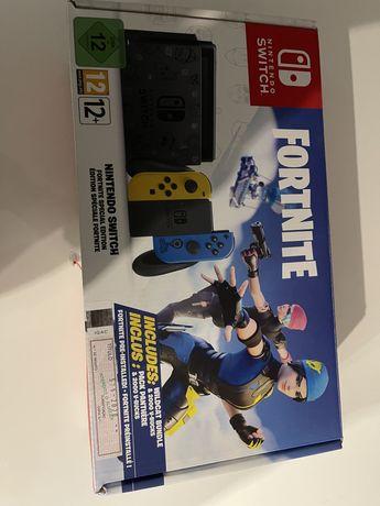Nintendo Switch edição limitada fortnite