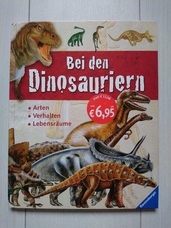 Книга про динозаврів Bei den Dinosauriern на німецькій мові