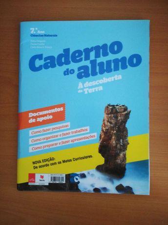 """Caderno de atividades """"Á descoberta da Terra""""- 7º ano"""