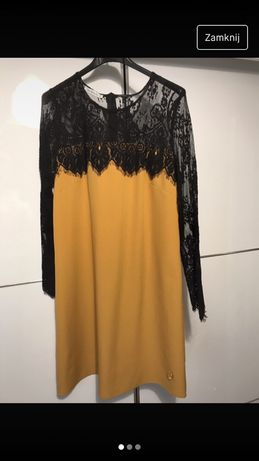Sukienka miodowa L