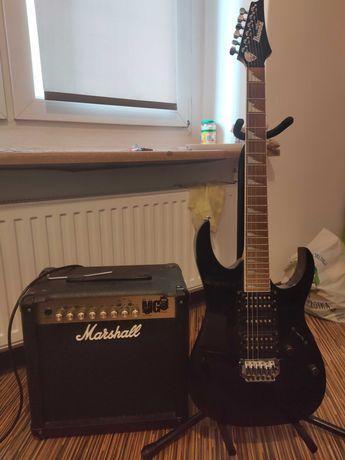 sprzedam gitarę elektryczną + wzmacniacz