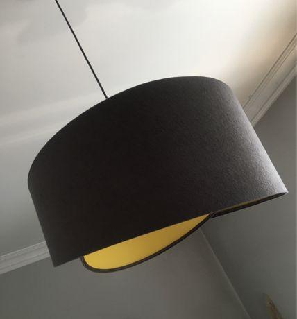 Wisząca szara lampa Maco Design