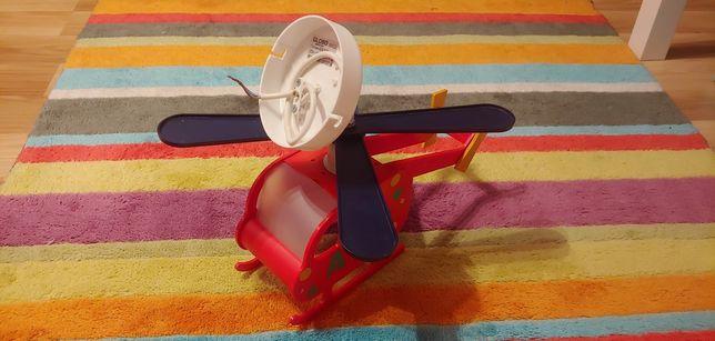 Lampa sufitowa helikopter do pokoju dziecięcego
