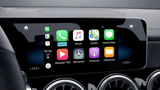 Ativação Apple CarPlay e Android Auto em Mercedes-Benz