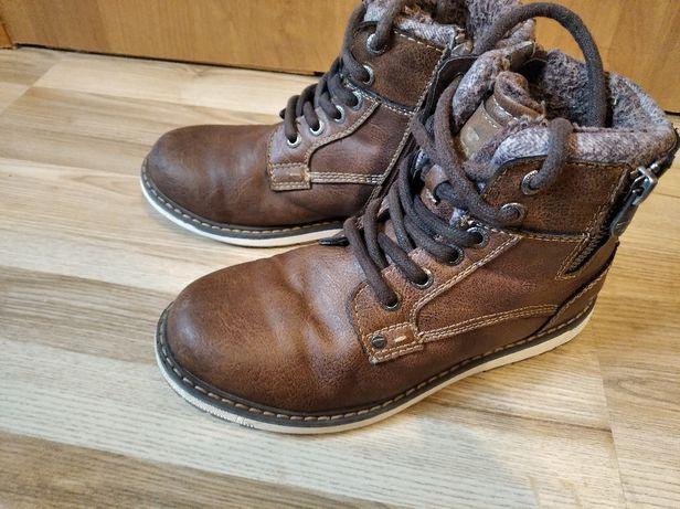 Ботинки Tom Tailor на мальчика 34 размер.