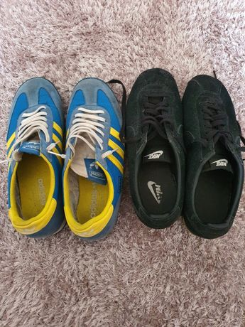 Tenis Nike e Adidas