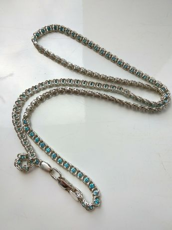 Цепочка серебро 50 см