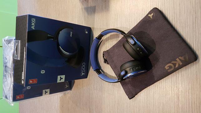 AKG Y500 by Harman Nowe. Gwarancja. Słuchawki bezprzewodowe Bluetooth.