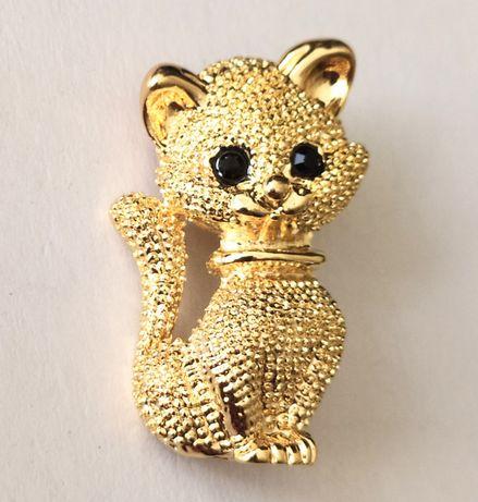 Брошка киця кіт кішка котик нова біжутерія