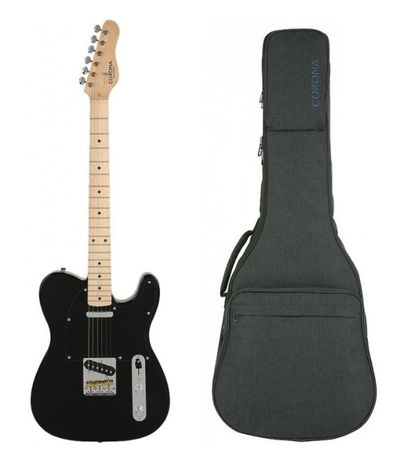 Gitara elektryczna CORONA Telecaster Classic TE M-BLK BRATPOL TORUŃ