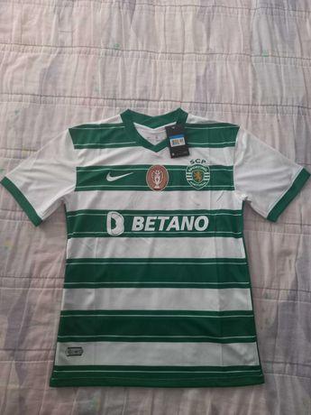 Camisola Sporting Clube de Portugal 21/22 Tam. M - 40€