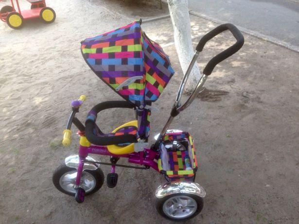 Детский трехколёсный велосипед Торино