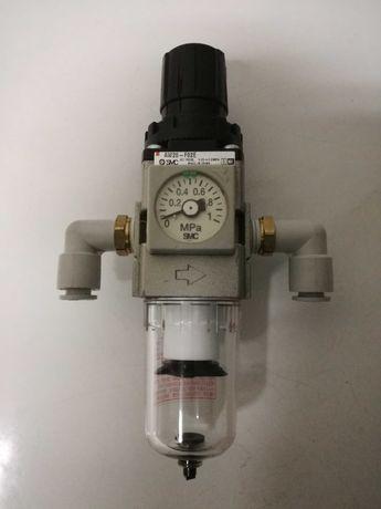 Filtro SMC regulador de pressão ideal para compressores.