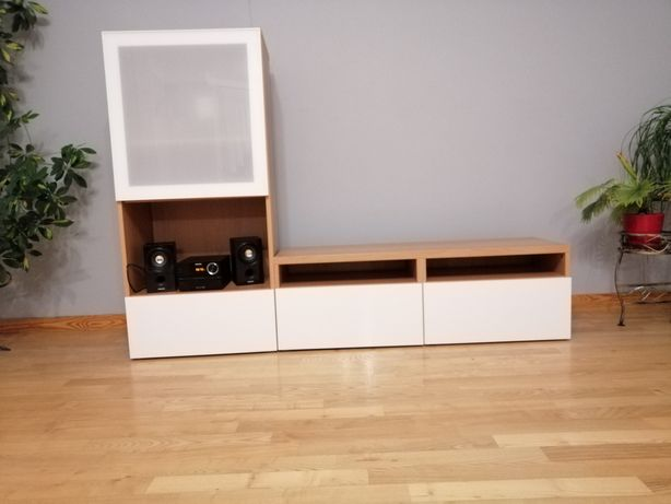 Ikea Besta dół i szafka stojąca