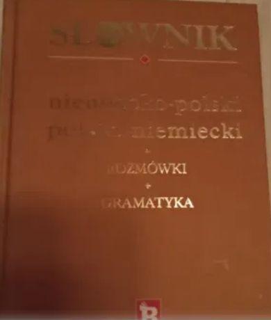 Okazja! Duży słownik,niska cena, 3w1 niemiecko/polski polsko/niemiecki