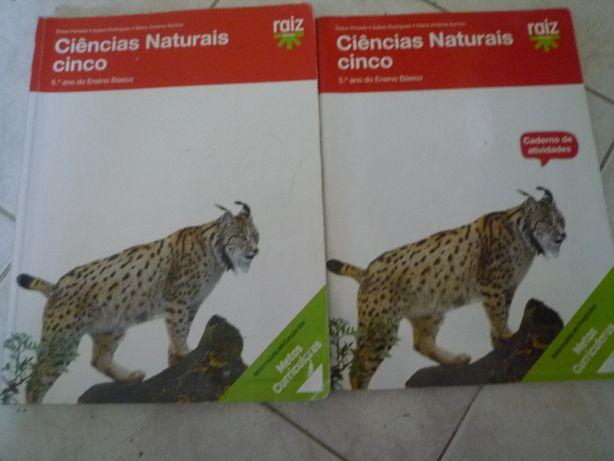 Ciências Naturais 5º ano Raiz Editora com o ISBN: 978_989_744076_2