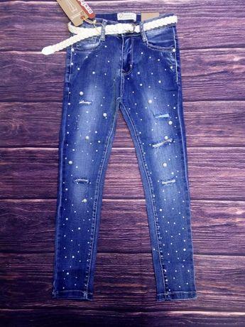 Стильные джинсы скинни 128-164. Венгрия Seagull.