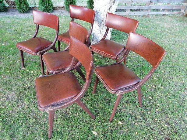 Krzesła Skoczki PRL