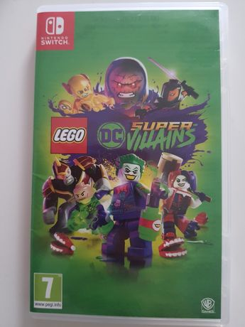 Lego Super Villains Nintendo Switch