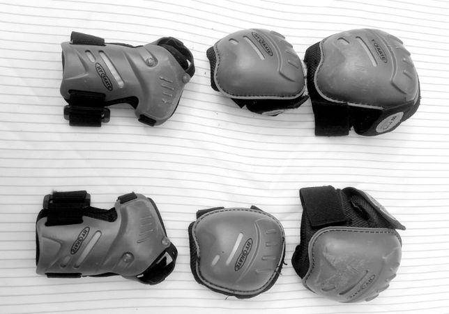 Ochraniacze na rolki hulajnogę wrotki 6 szt. dziecięce