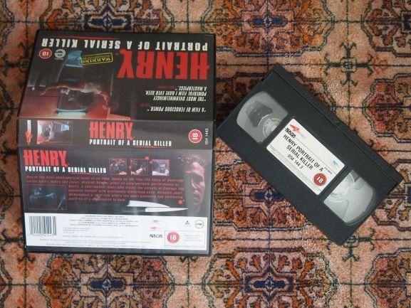 "Henry: Portrait of a Serial Killer"" VHS terror"