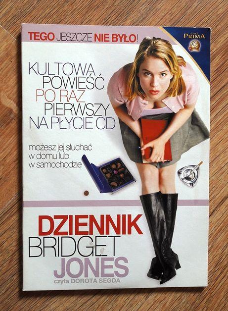 Dziennik Bridget Jones książka audio Audiobook 4CD