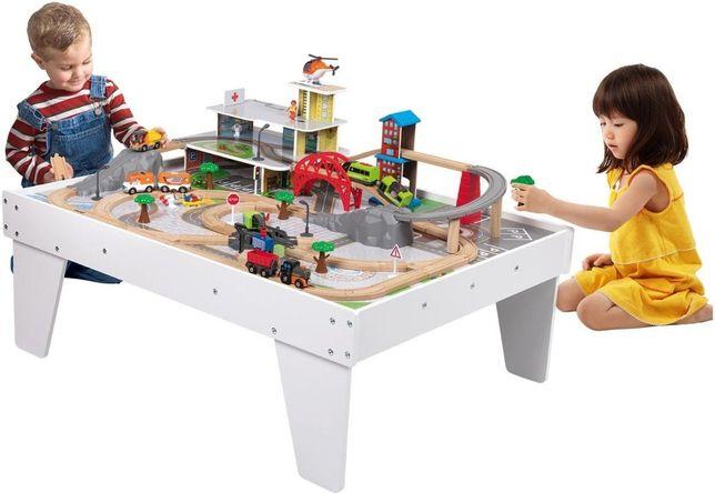 Игровой стол с деревянной железной дорогой PlayTive Junior IAN 322787