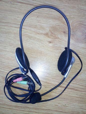 Słuchawki do Skype/Videorozmów z mikrofonem+Prezent