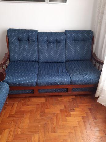 Vendo sofa cama com 5 lugares