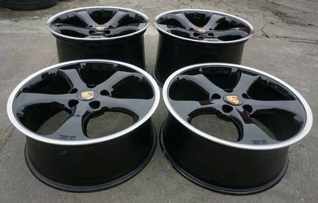 "5x130 8.5/12J 20"" Porsche TechArt 997 911 Turbo Carrera Oz Bbs"
