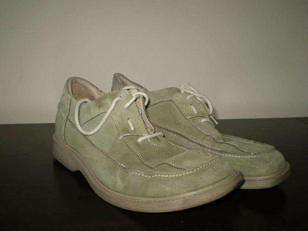 Zamszowe buty firmy Gino Lanetti w rozmiarze 45