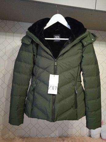 Куртка зимняя ZARA размер S
