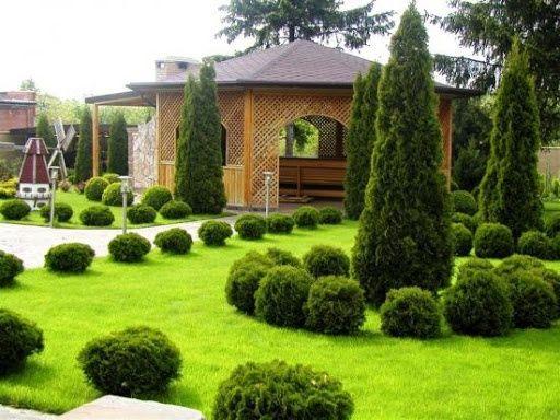 Ландшафтный дизайн и озеленение участков