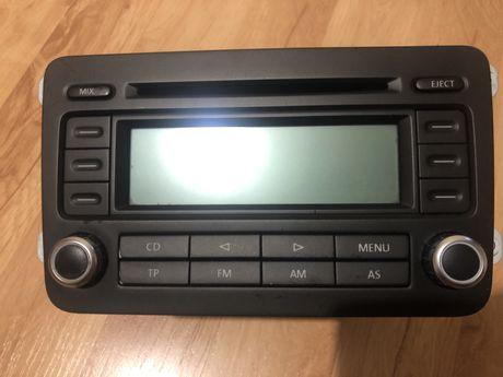 Radio fabryczne VW RCD300 chrome BVX blaupunkt plus kod passat golf