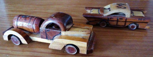 Miniaturas em Madeira - Artesanato Cubano