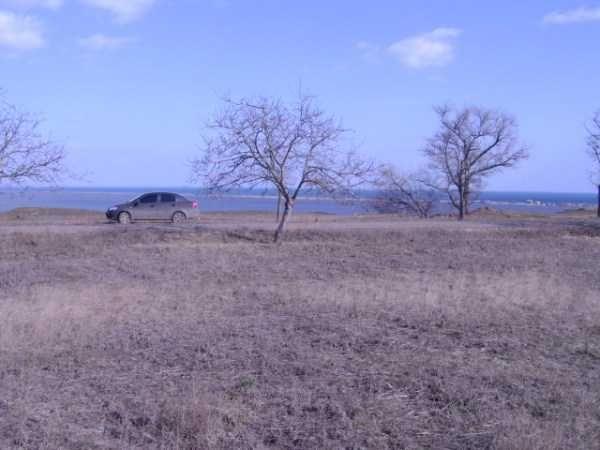 Продам участок с. Курортное/Приморское. Первая линия. Вид моря, лимана