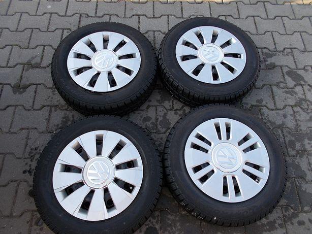 Opony zimowe z felgami 4x100 5Jx14 ET35 VW ,SEAT ,SKODA (K8)