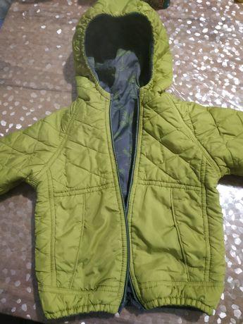 Демисезонная двухсторонняя курточка