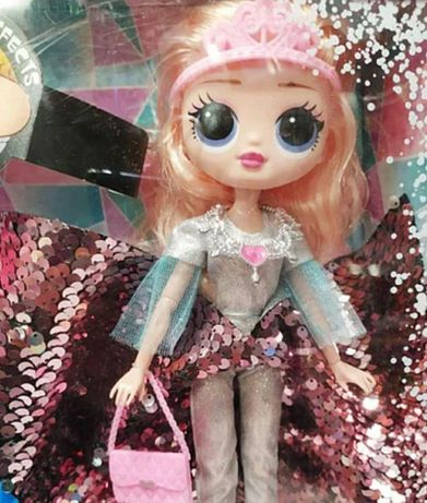 Кукла для детей в платье, айсберг с подсветкой
