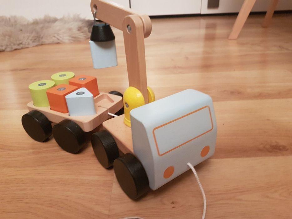 Zabawka dźwig z przyczepą Gorzów Wielkopolski - image 1