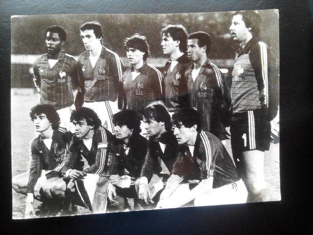 Piłka nożna Drużyny: Francja,Anglia,Austria .85-86r. Unikat ! 30 zł