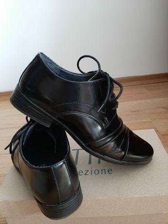 Buty wyjściowe Ottimo półbuty dla chłopca roz 34 komunia