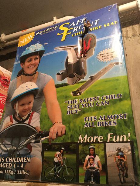 Fotelik rowerowy WEERIDE Safe Front (do 15 kg, 1-4 lat)