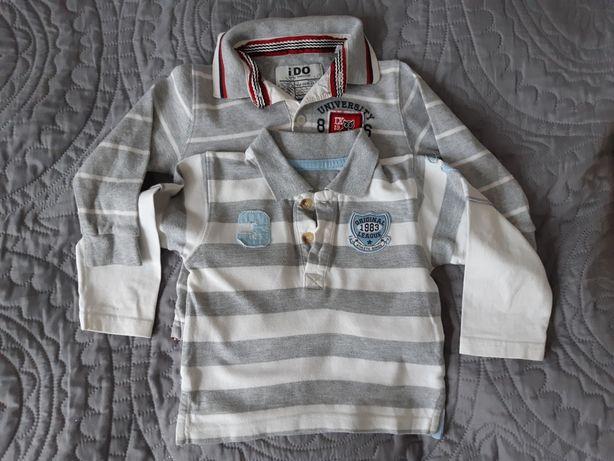 Bluzeczki r.86 *2 szt